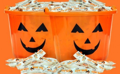 Cow Tales nut free Halloween candy