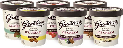 Amerian Made Mens Gifts Under $100 - Graeters Signature Select Ice Cream Bundle