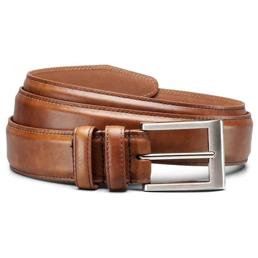 American Made Gifts Under $100 - Allen Edmonds Belt via USALoveList.com #usalovelisted #madeinUSA #giftsforhim