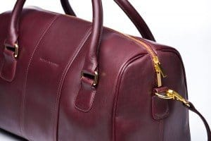 American Made Leather Handbag from Merci-Fortune via USALoveList.com