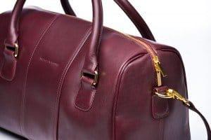 American Made Leather Handbag from Merci-Fortune via USALoveList.com