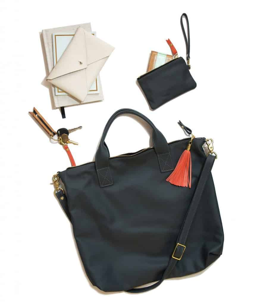 American Made Leather Handbags from Blair Ritchey - Made in Ohio