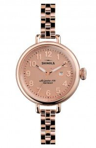 American Made Luxury Watch from Shinola made in Detroit via USALoveList.com