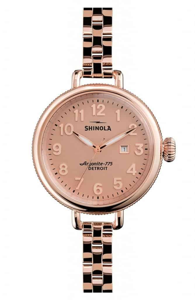 Affordable Luxury Gifts for Women: Watch from Shinola made in Detroit via USALoveList.com