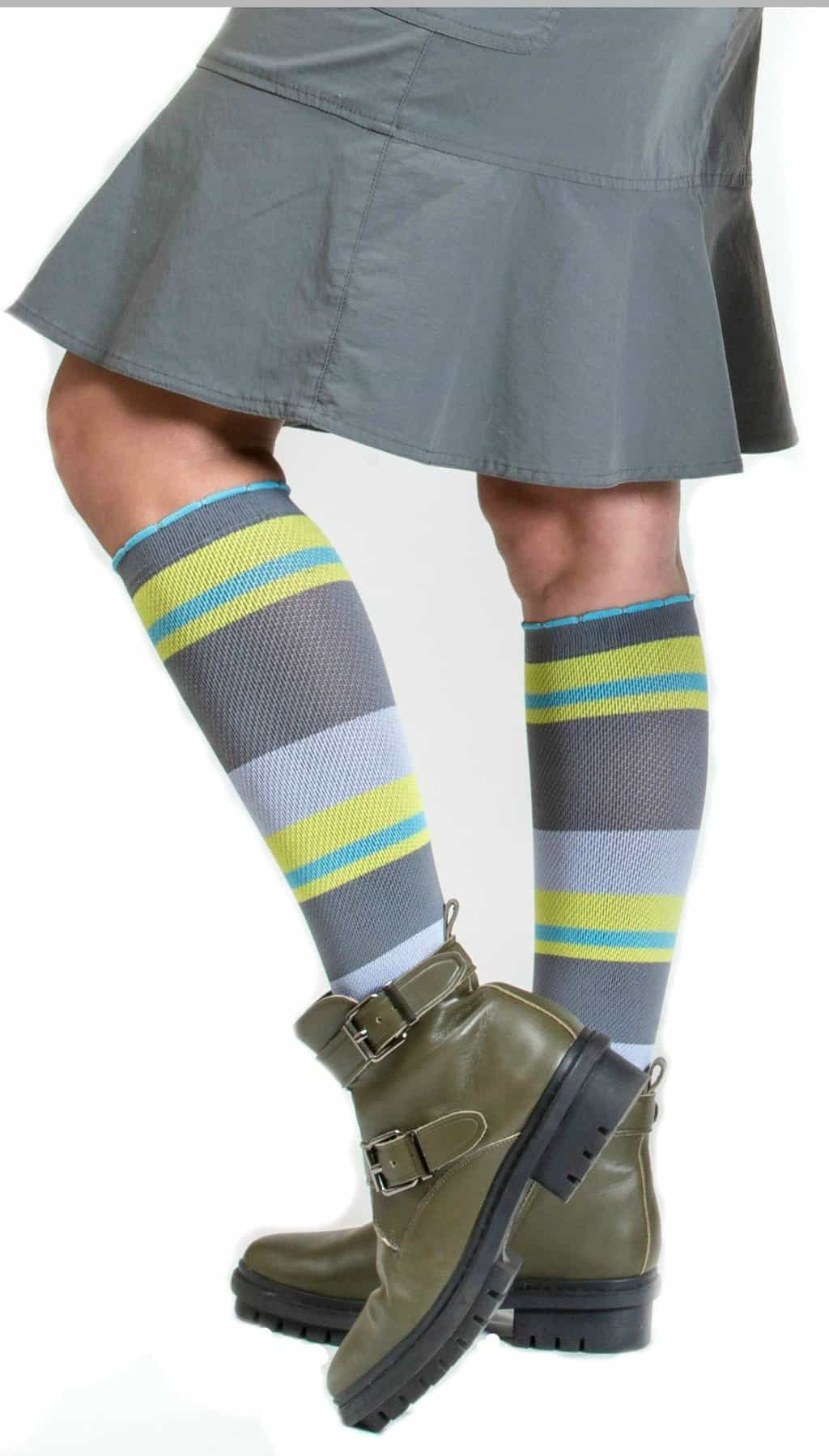 American Made Preppy Fashion Compression Socks From Lily Trotter | 25 percent off coupon code SAVE25NOW