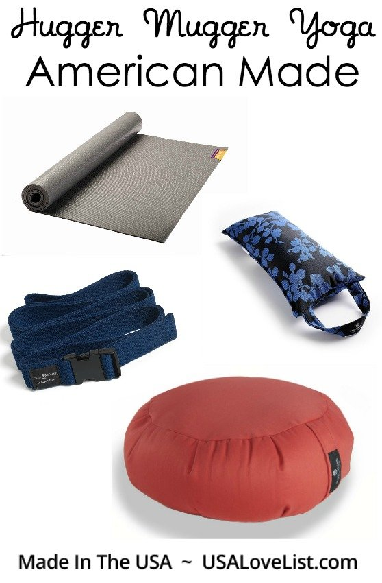 American Made Yoga Products from Hugger Mugger and Giveaway via USALoveList.com