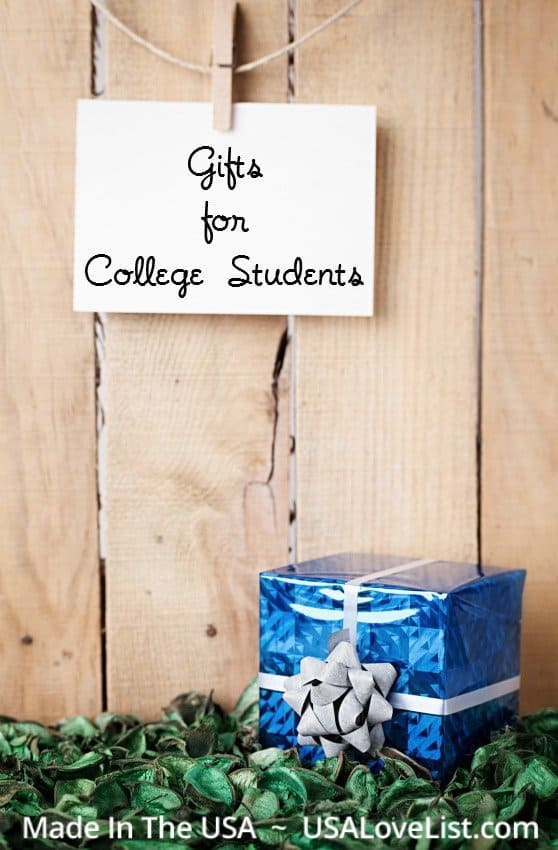 gift ideas for college students - made in USA