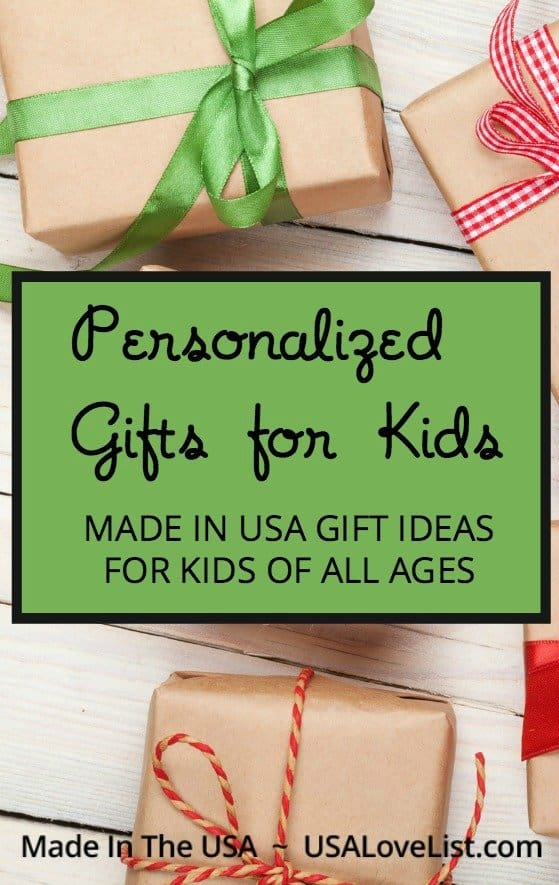 Personalized gifts for kids | Gift ideas for baby, tween, teen, and all ages!