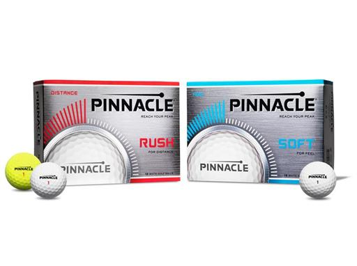 Pinnacle Rush and Soft Golf Balls Reviewed | American Made Golf Balls | Designed and Manufactured in Fairhaven, Massachusetts | Gifts for golfers
