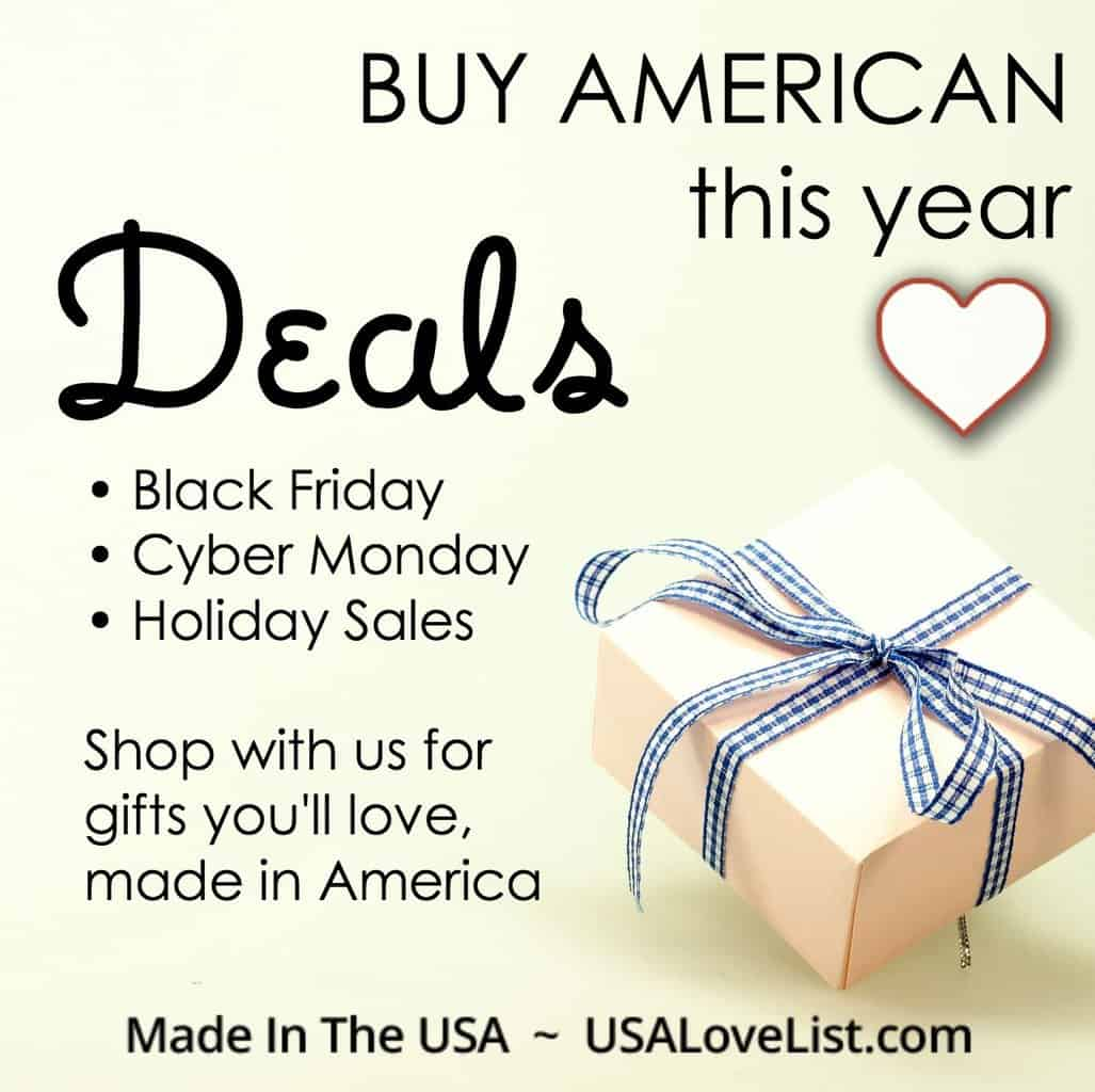 Start Your Shopping With Our Exclusive List of Deals and Sales on American Made
