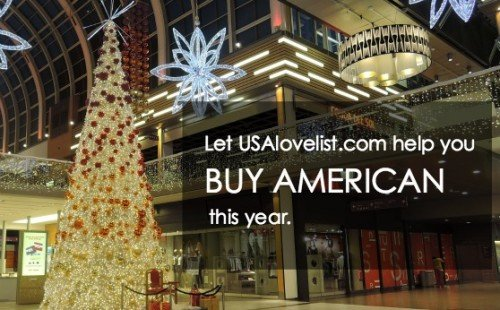 Let USAlovelist.com help you buy American this year. Gift ideas, sales, deals, and more.