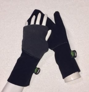 Turtle Gloves convertible mittens turn into fingerless gloves | $5 OFF the NEW - HEAVY WEATHER PROTECT Turtle-Flip Mittens.