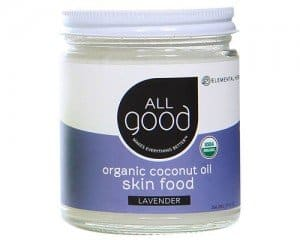 All Good Coconut Oil Skinfood Organic Vegan Beauty via USALoveList.com