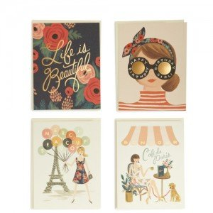 American Made Greeting Cards from Rifle Paper Co. via USALoveList.com