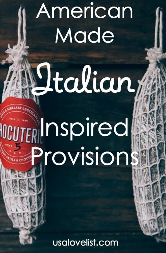 American Made, Italian Inspired Provisions via USALoveList.com