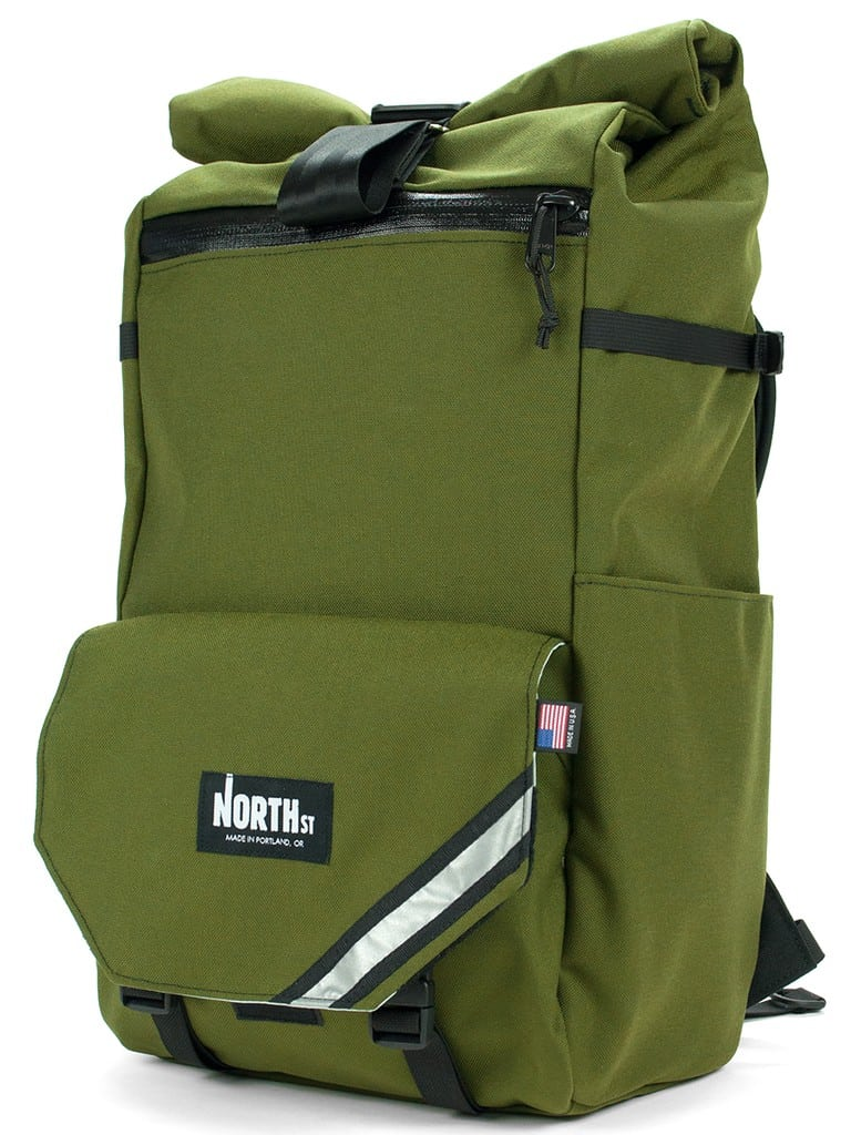 Gifts for the Outdoor enthusiast: American Made Trekking Backpack from North St. Bags | Built to Last a Lifetime | Made in Portland, Oregon #usalovelisted #backpacking #hiking