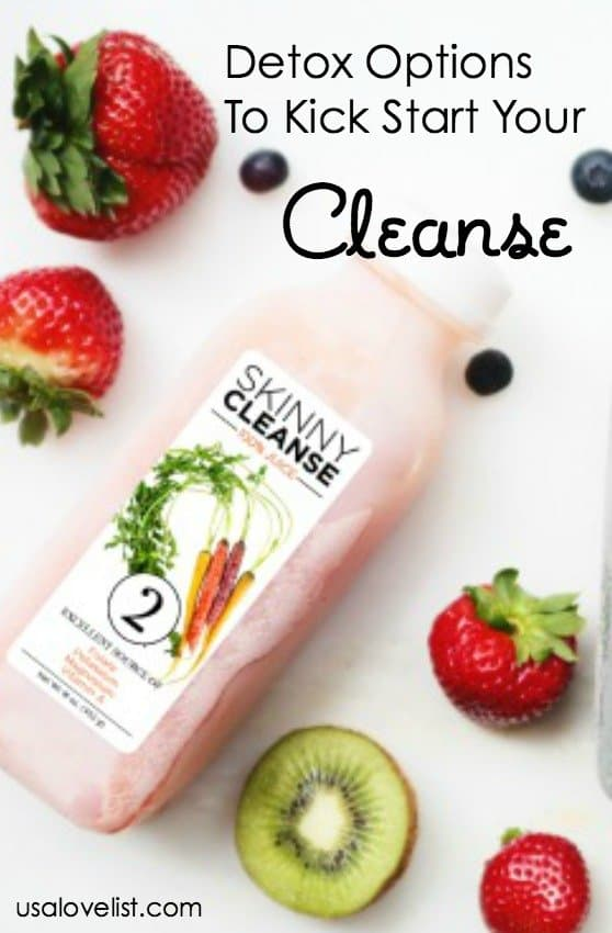 Natural Detox Cleanse Options To Kick Start Your Cleanse via USALoveList.com #cleanse #naturalhealth #usalovelisted