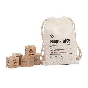 Foodie Dice American Made Gifts Under $30 for Everyone On Your List via USALoveList.com