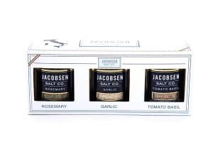Jacobsen Salt co. Italian Salt Set American Made Gifts via USALoveList.com