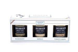 Jacobsen Salt co. Italian Salt Set American Made Gifts via USALoveList.com