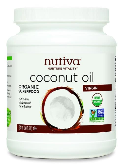 Natural Detox Cleanse: Nutiva Coconut Oil #cleanse #naturalhealth #usalovelisted