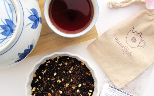 Organic Non-GMO, Fair Trade Tea from Plum Deluxe | Tea Club of the Month | Gifts for Tea Lovers | Tea Blended in Portland, Oregon