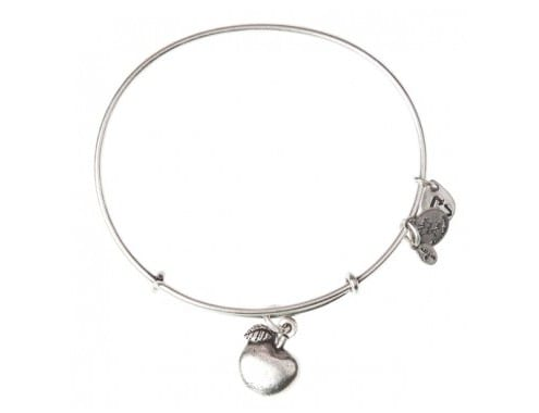 Teacher gift idea   Alex and Ani Apple of Abundance Charm Bracelet   Made in USA