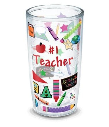 Teacher gift ideas   Tervis #1 Teacher insulated tumbler   Made in USA
