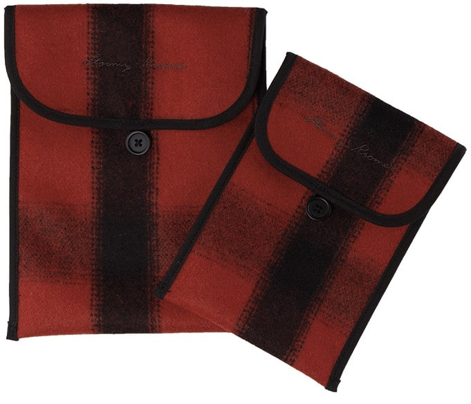 Stormy Kromer Plaid Tablet Sleeve | Made in USA