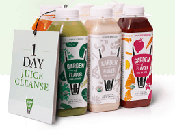 Natural Detox Cleanse: Garden of Flavor Detox Juices and Other Options via USALoveList.com #cleanse #naturalhealth #usalovelisted