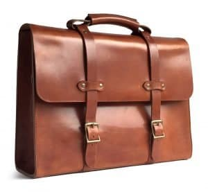 American Made Leather Briefcase from Jackson Wayne | Luxury Gifts For Him