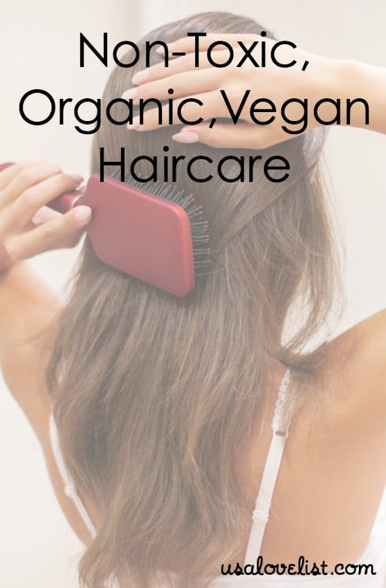Non-Toxic, Vegan, Organic, American Made Haircare Products on USALoveList.com