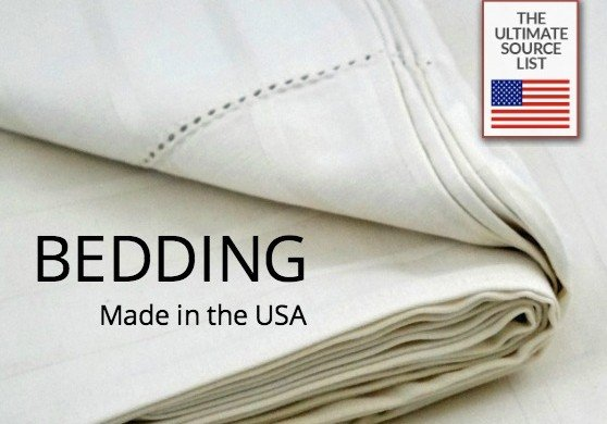 buy bedding made in usa the ultimate bedding source list