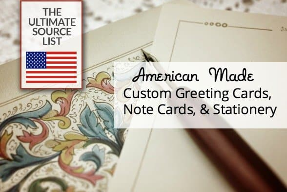 American Made Custom Greeting Cards, Note Cards, & Stationery