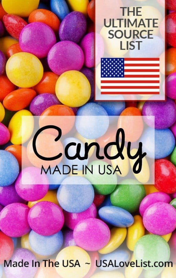 Candy made in the USA | A list of American made candy for all occasions
