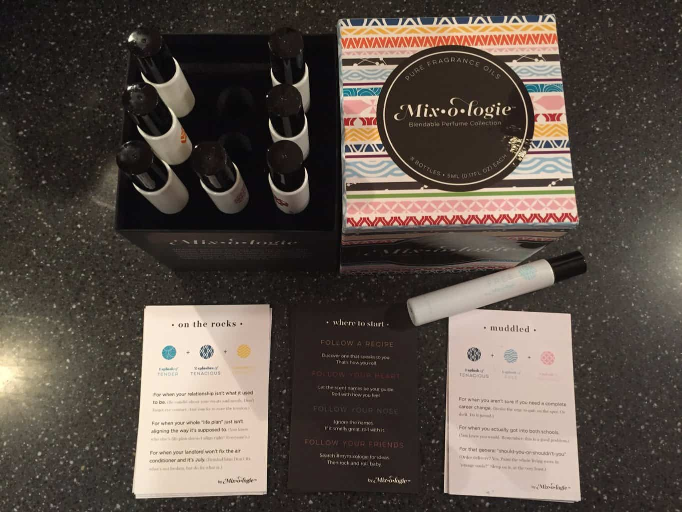 Mixologie Custom Blendable Fragrance Set, crafted in Austin, TX