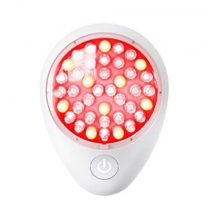 Anti-Aging red light, amber light and LED light facial treatment by Baby Quasar.