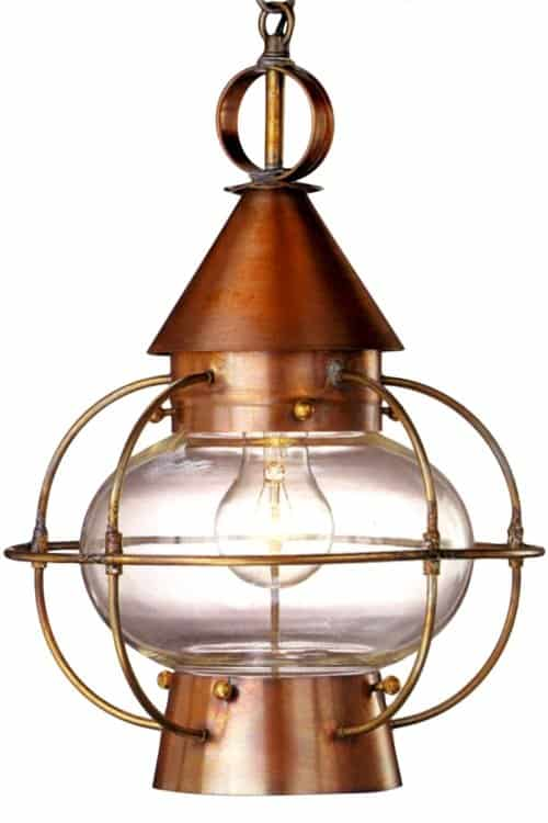 Lanternland American made lighting fixtures |Cape Cod Pendant | Indoor and outdoor lighting