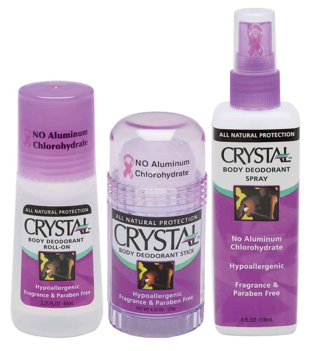 American made vegan products  we love. Crystal deodorant.