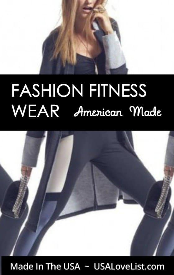 Fashion fitness wear, gym wear, workout clothing | Made in USA