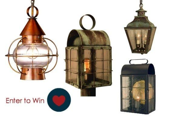 Lanternland Giveaway  Made in USA lighting fixtures