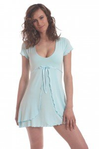 SNOA Sleepwear First Kiss Babydoll Nightie. Sexy, cozy, eco-friendly and made in the USA. Enter to win a $125 eGiftCard. Ends 3/31/16.