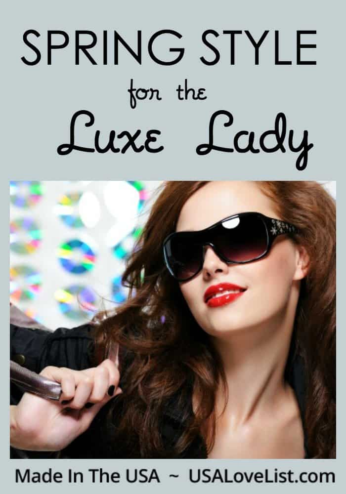 Spring Style for the Luxe Lady