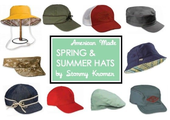 New Spring & Summer Hats Made in USA by Stormy Kromer