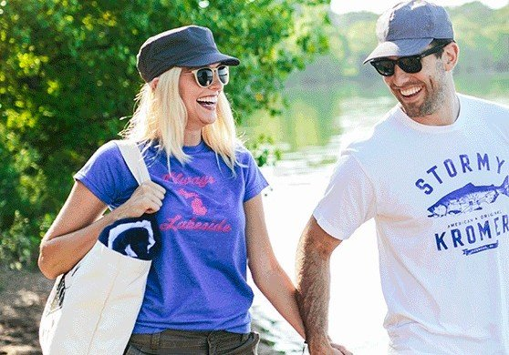 Stormy Kromer made in USA hats, T shirts and accessories for spring and summer