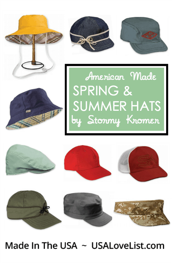 Strormy Kromer Spring Summer Hats Made in USA