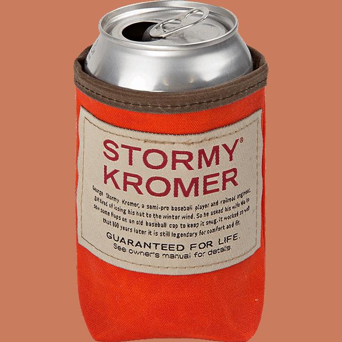Stormy Kromer beer koozie | Made in USA