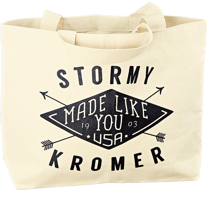 Stormy Kromer beach tote | Made in USA