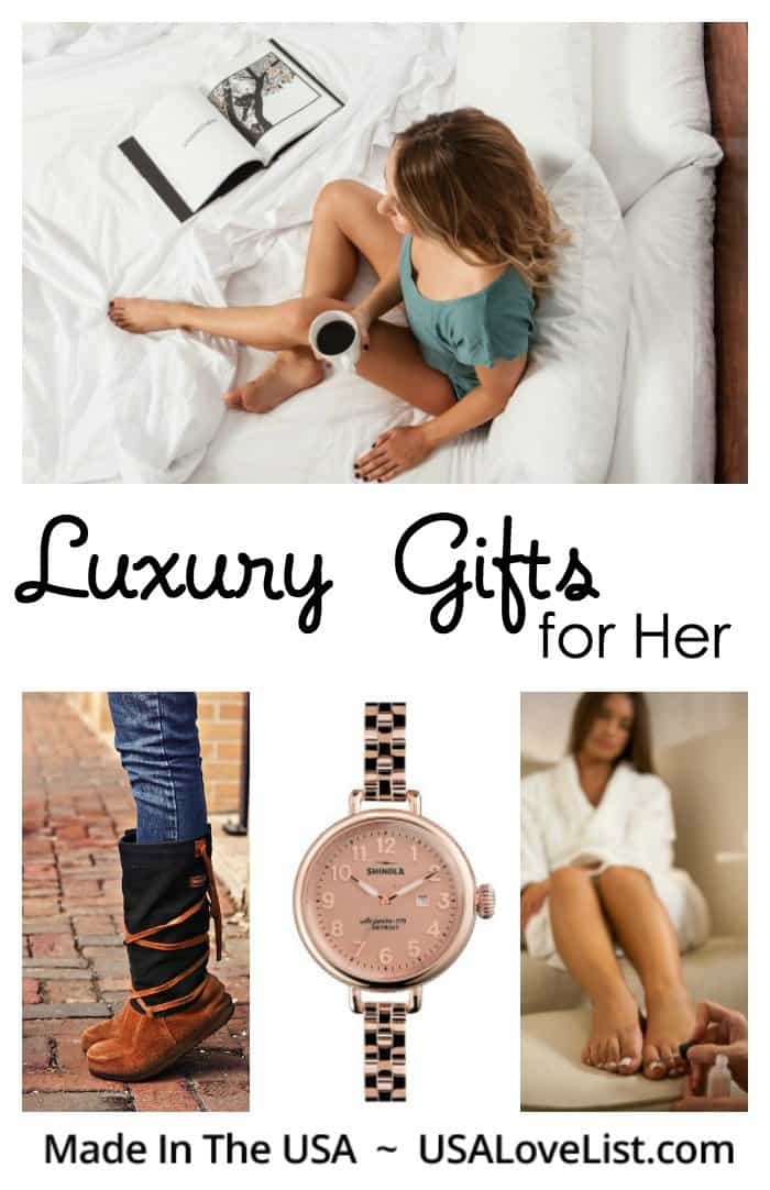 Affordable Luxury Gifts for Her | Made in USA