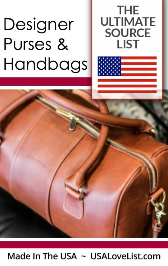 American Made Designer Purses And Handbags The Ultimate